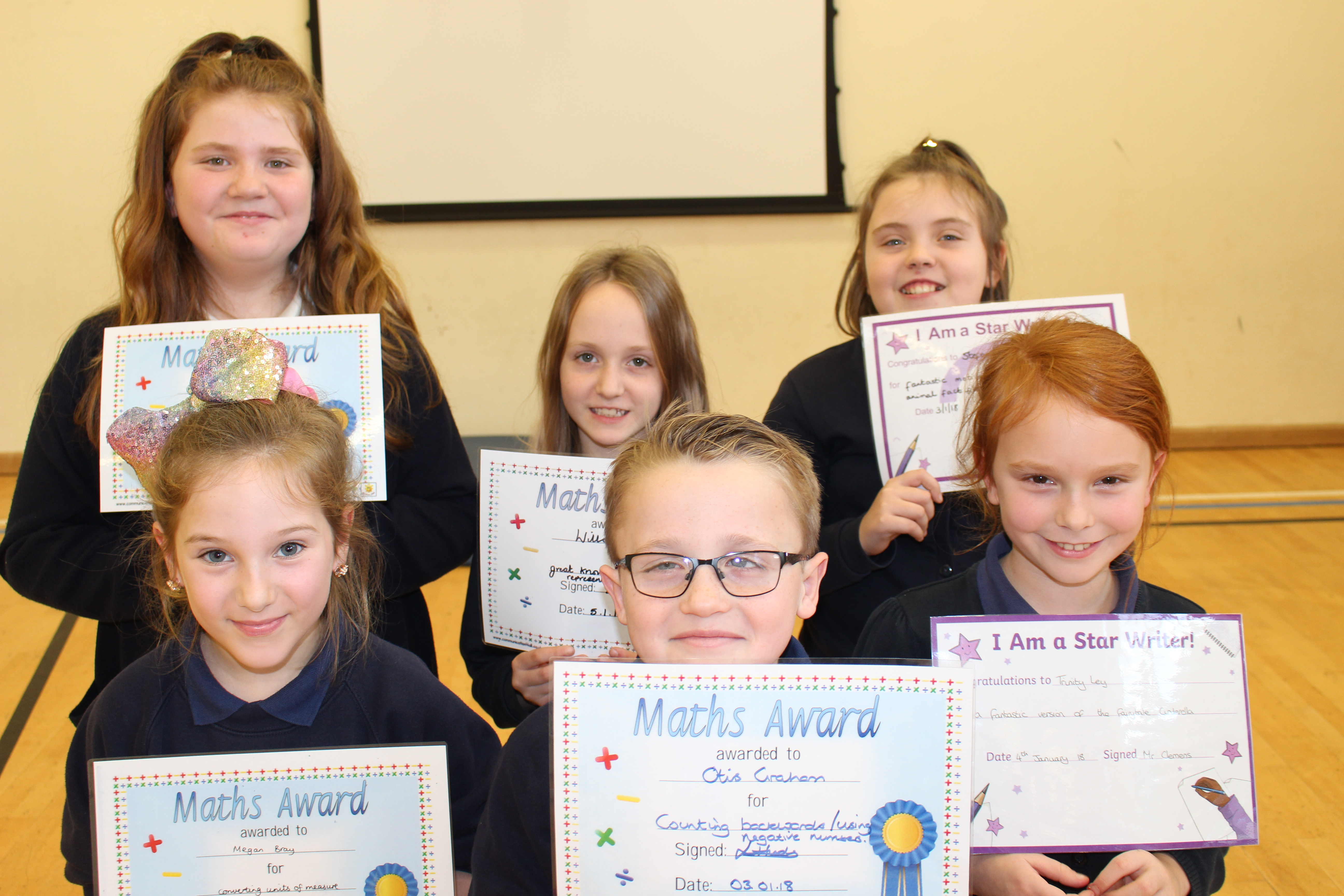 5 KS2 Certificates of ther week