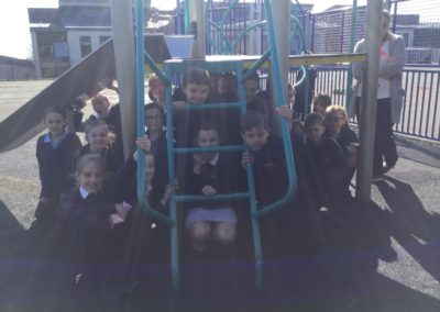 Class 4LH Enjoying The Fantastic Weather