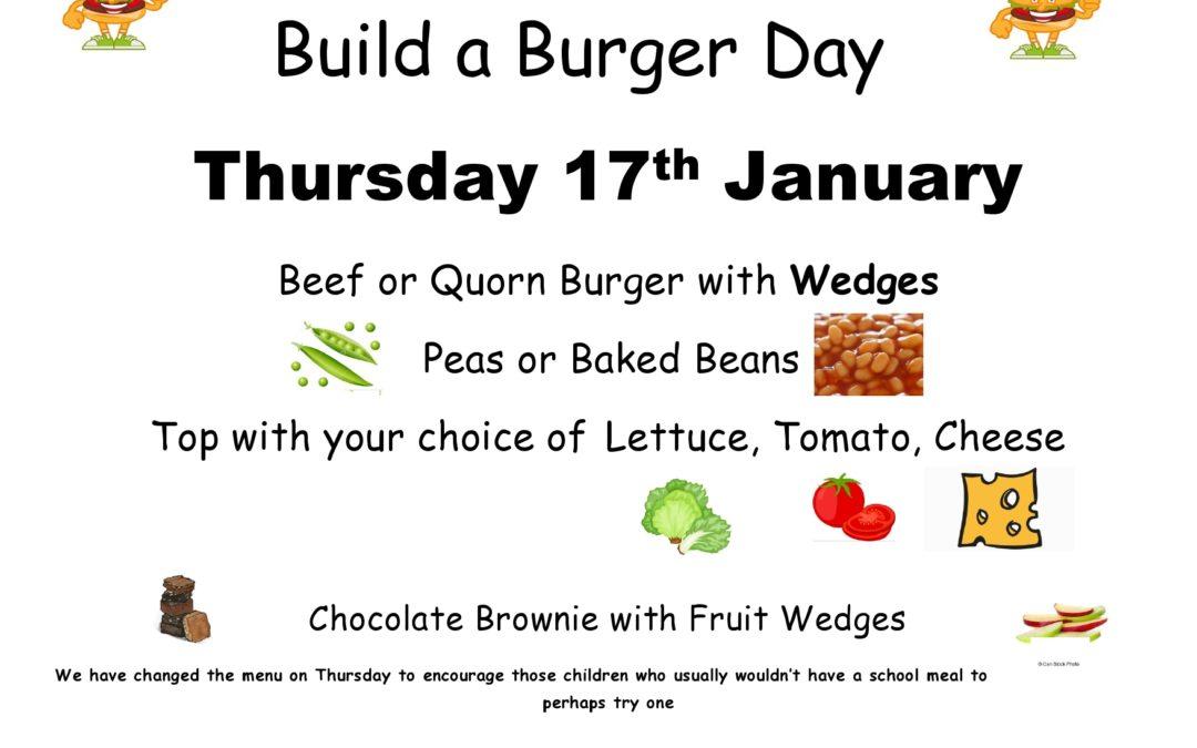 Build A Burger Day!