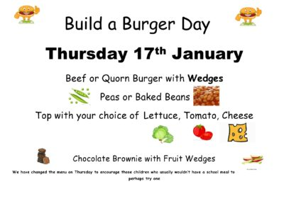 Build A Burger Day!