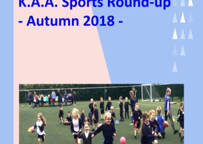 Sports Round Up: Autumn 2018