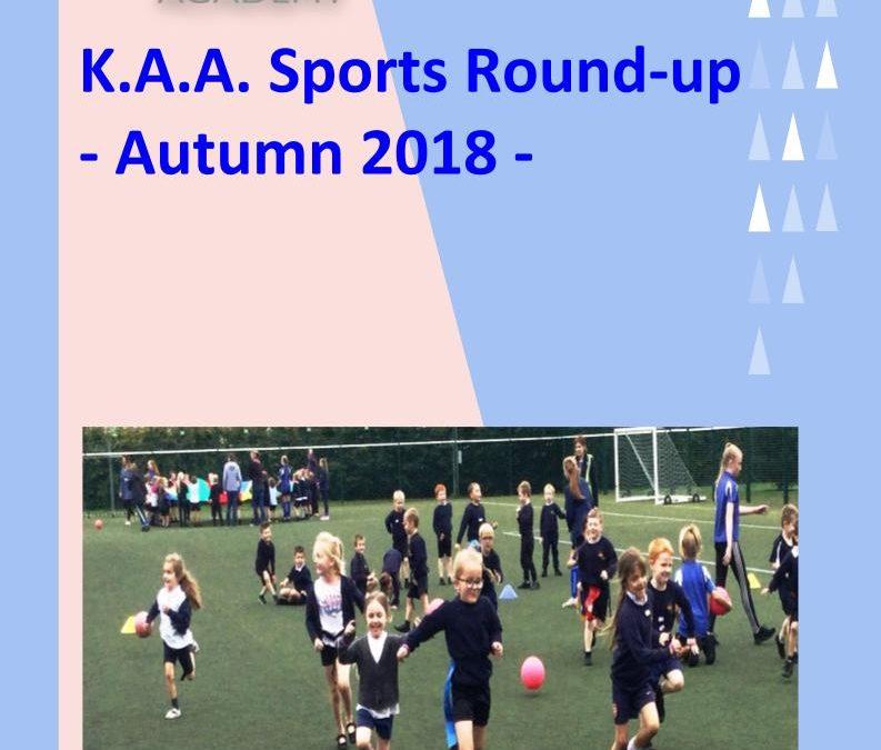 Sports Round Up: Autumn 2018