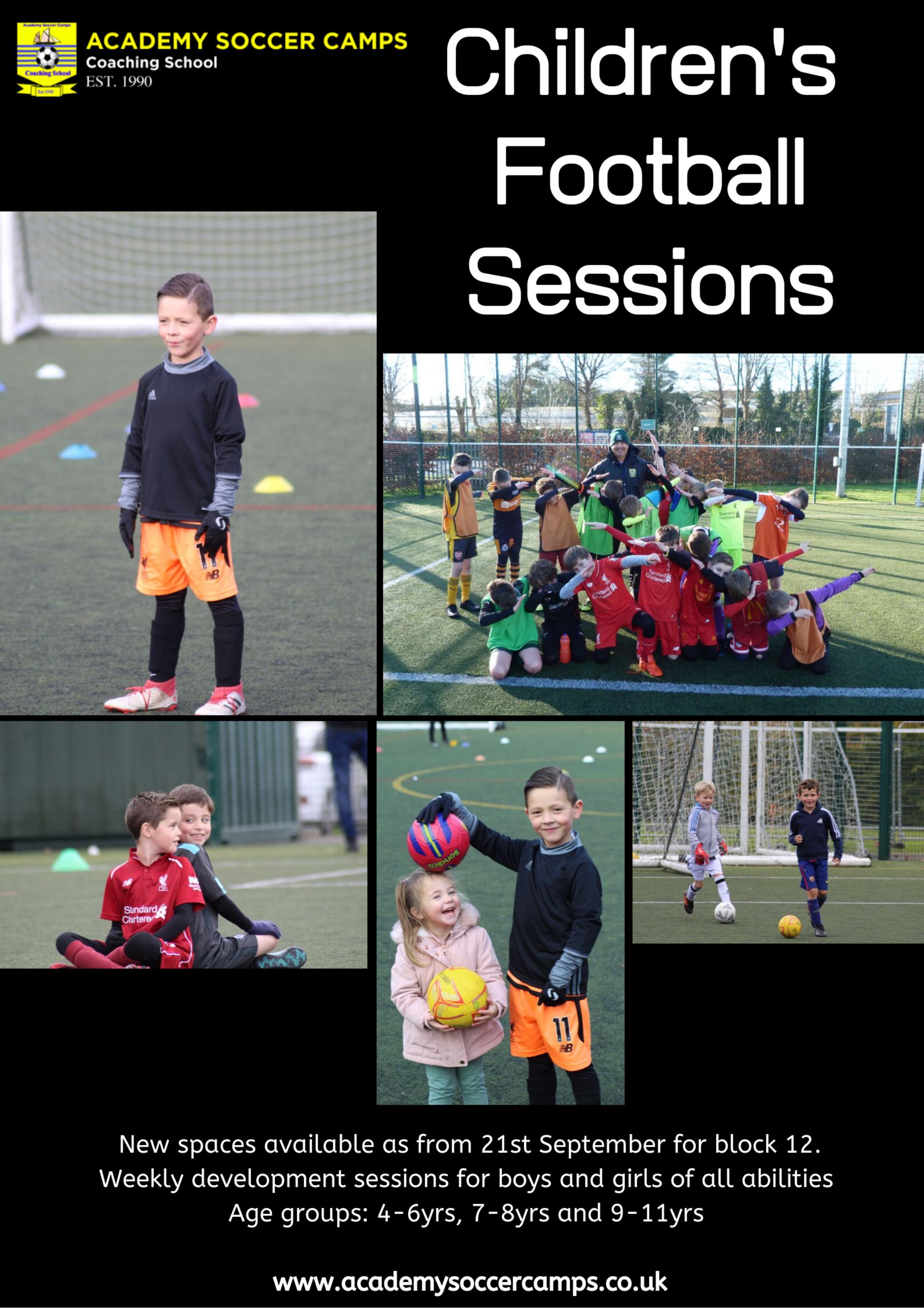 Children's Football Sessions