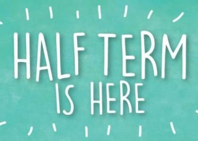 Half term is here!